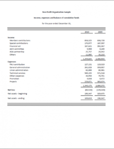 Professional Weekly Financial Report Template Word Example