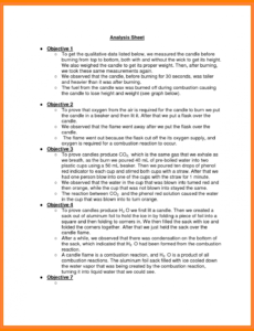 Best Formal Lab Report Template Doc