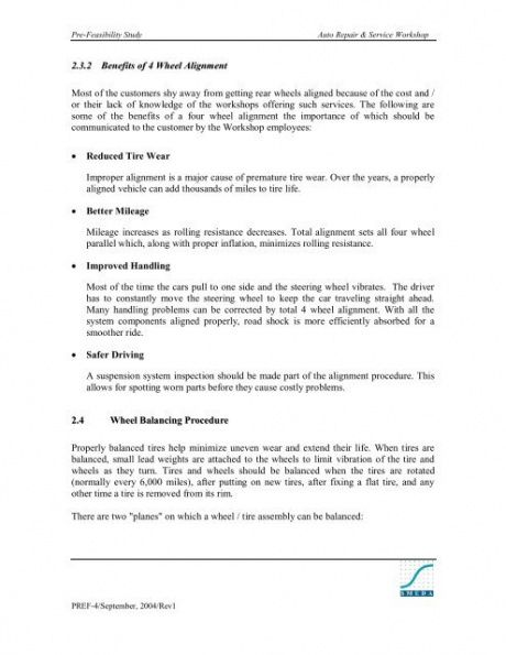 Costum Automation Feasibility Report Template Pdf Sample