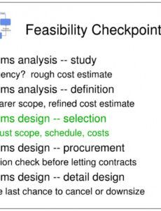 Editable Automation Feasibility Report Template Word Example