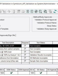Free Medical Device Validation Report Template Excel Sample
