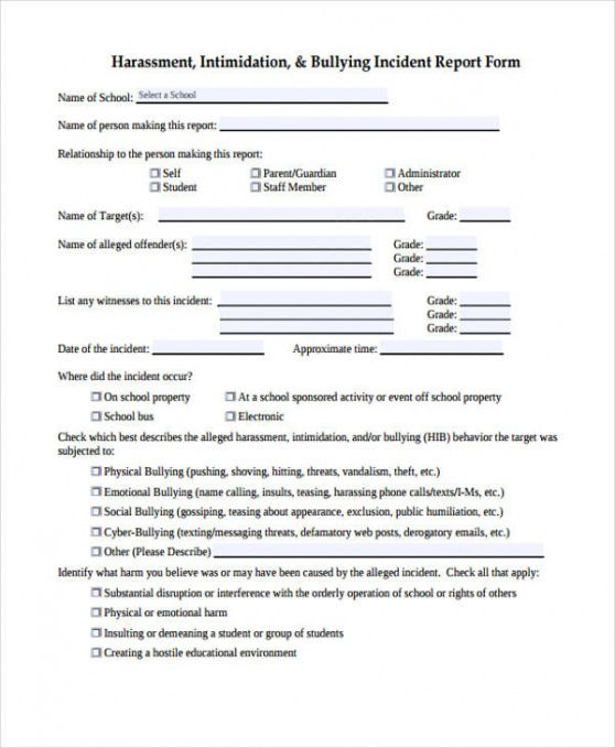 Printable Athletic Injury Report Form Template Doc Sample