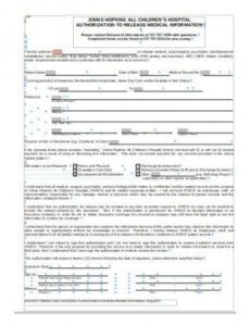 Best Dental Records Release Form Template Word Sample