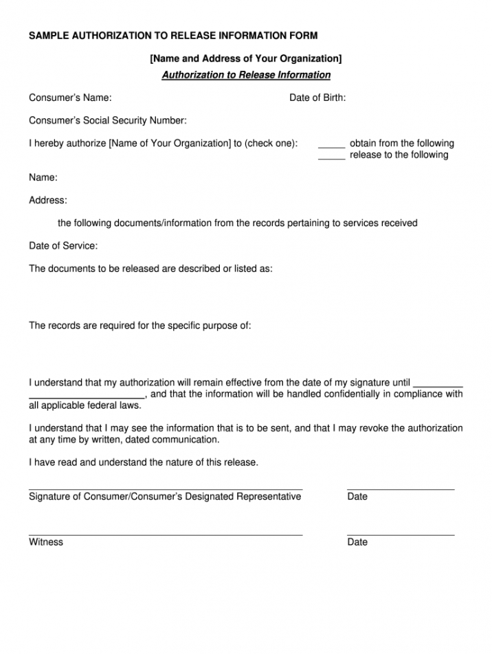 Best Legal Release Form Template Doc Sample