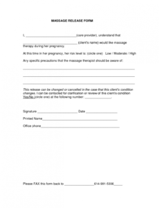Costum Photo Permission Release Form Template Word