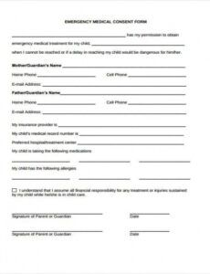 Editable Child Photo Release Form Template Pdf Sample