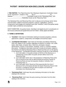 Non Compete Release Letter Template Pdf