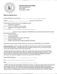 Professional Employee Photo Release Form Template Doc