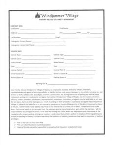 Professional Hunting Release Of Liability Form Template Doc Example